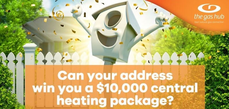 Win a $10,000 Central Heating Package from The Gas Hub
